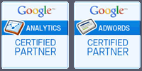 Certified in Google Analytics and AdWords