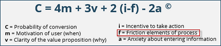 marketing experiments / marketing sherpa conversion formula