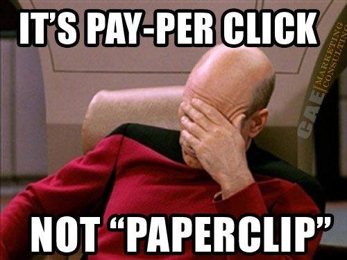 Google Paperclip marketing & advertising