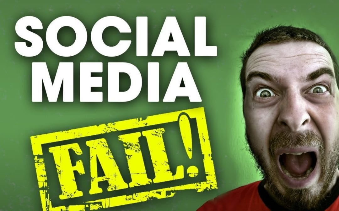 Common Social Media Mistakes Made by Social Media Managers