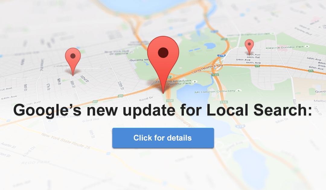 Google Local SEO 3-Pack Update